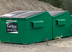 Central Cariboo Disposal offer garbage, waste and recycling bins.
